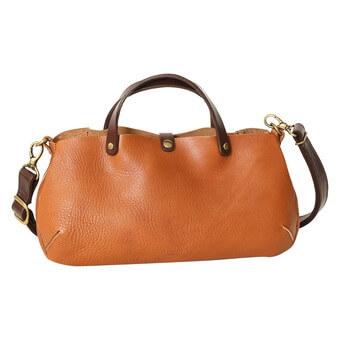 栃木レザーオイルヌメ革ハンドバッグ|ラヘラ