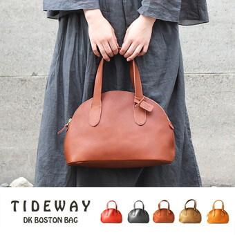 姫路レザーボストンハンドバッグ|TIDEWAY(タイドウェイ)