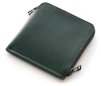 厚い革の薄い財布|SYRINX