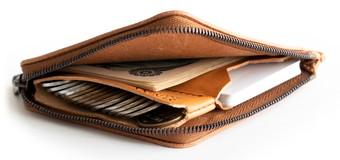 厚い革の薄い財布|SYRINX2