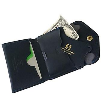 クランプ 三つ折り財布| 池之端銀革店 2