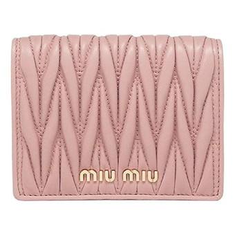 マテラッセ 二つ折 財布|miumiu