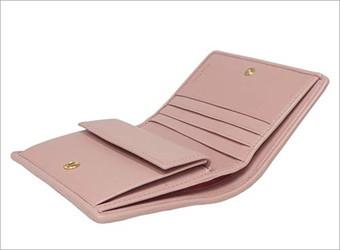 マテラッセ 二つ折 財布|miumiu2
